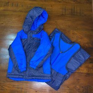 Boy's Columbia Snow bib and Snow Jacket - Size 3T
